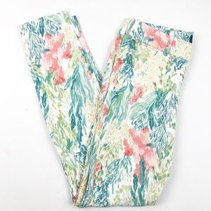 Old Navy   Pixie Fit Tropical Floral Print